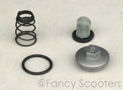 Oil Filter and Drain Plug Kit for GY6 50cc, 125cc, and 150cc Engine