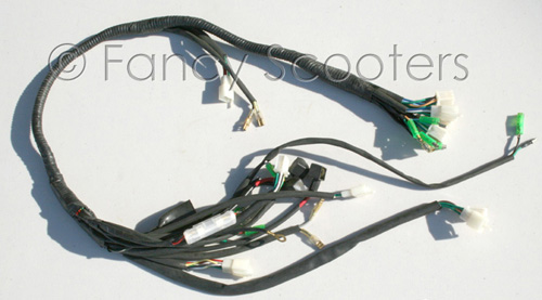 Whole Wire Harness for GS-408 (125cc)