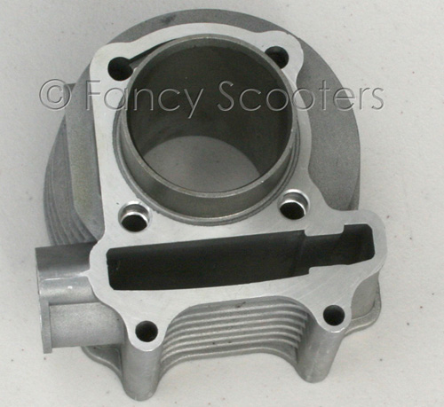 125cc GY6 Engine Cylinder (Bore=52mm Height=90mm Bolt Hole Spacing=53mm)