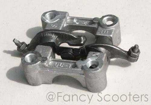 50cc GY6 Engine Camshaft Seat, Rocker Arm Assembly