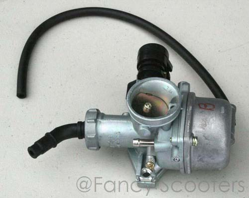 PZ 22 Carburetor B with Manual Choke for ATVs and Diablo Choppers (125cc)