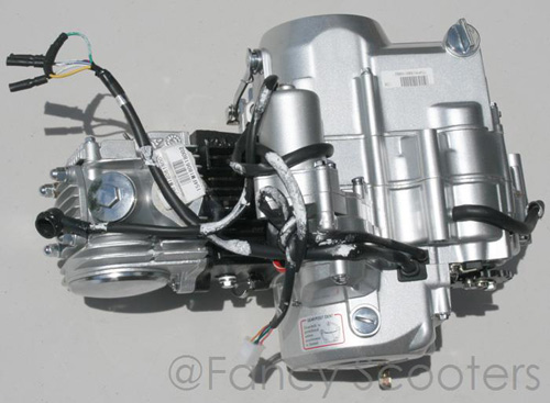 125cc 4-stroke Whole Engine with Clutch & Gears for GS-302, 303,408