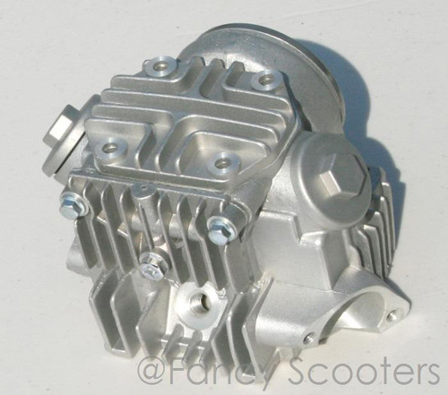 70cc Complete Cylinder Head A with Valves Setup for 4-Stroke Horizontal Engine
