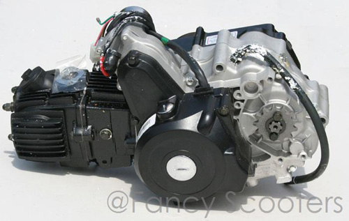 110cc 4 Stroke Whole Engine (Automatic, Starter on Top)