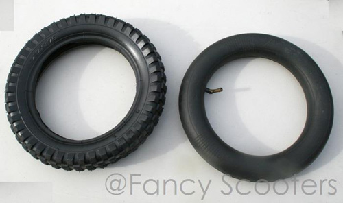 Tire (12.5 x 2.75) with L Valve Inner Tube