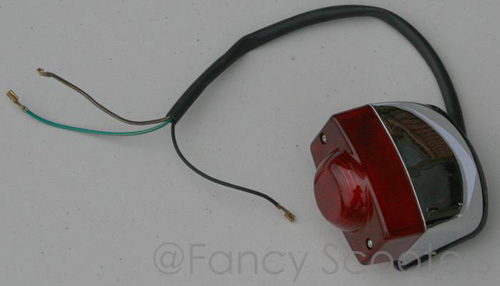 Tail Light (3 wires) for GS-302 (125cc)