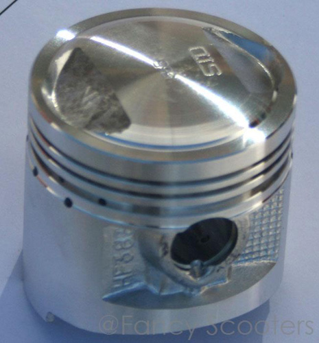 CG125 Piston (Dia=56mm, Height=55mm, Pin Dia=15mm)