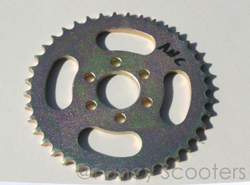 Rear Sprocket ANC 40 Teeth, Bolt Pattern 6 for 428H Chain